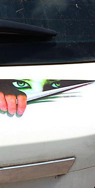 povoljno -Crn / Zelen Naljepnice za auto Humor Vrata za vrata / Naljepnice / Naljepnice s automobilom za rep Nije specificirano 3D naljepnice