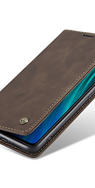 cheap -CaseMe New Retro Leather Magnetic Flip Case For Xiaomi Redmi Note 8 / Note 8 Pro With Wallet Card Slot Stand Cover
