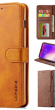 cheap -lc.imeeke Luxury Leather Case For Xiaomi Redmi Note 8 Pro Note 7 Mi 9T Redmi 8A Redmi 8 Note 8T K20 Pro Flip Wallet Magnetic Card Stand Cover