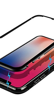 cheap -Single Sided Magnetic Case For Xiaomi MI 10 /Xiaomi Note 10/Xiaomi CC9 Pro Shockproof Metal Case For Redmi Note 8T/ K30/ Note 8 Pro/ Mi CC9e/ Xiaomi Pocophone F1/ Mi 9 SE / Mi 8 Explorer