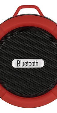 cheap -C6 Outdoor Wireless Bluetooth 4.1 Stereo Portable Speaker Built-in Mic Shock Resistance IPX4 Waterproof Louderspeaker