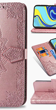 cheap -Mandala Embossed Leather Wallet Flip Case for Xiaomi Redmi Note 9 Pro Max Note 8 Pro Note 8T Redmi 8 8A Redmi 7 7A K30 K20 Mi 10 Pro Mi Note 10 Mi 9T Mi 9 SE Mi CC9 Pro CC9e Card Holder Stand Cover