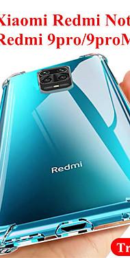 cheap -Transparent Soft TPU Case For Xiaomi Redmi Note 9 /  9S / 9Pro MAX / 8T / 8Pro / K30 / K30Pro /7A  Phone Case Silicone For Xiaomi Mi 10 / 10Pro / CC9Pro /CC9E / 9T / 9Lite / 8Lite Clear Case