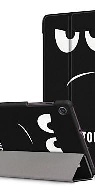 cheap -Case For Lenovo Lenovo Tab M8 HD TB-8505F / X / Tab M8 FHD TB-8705F / N / Lenovo Tab M7 TB-7305F / Lenovo Tab 7 / Tab4 7(TB-7504F / N / X) Pattern Back Cover Cartoon Genuine Leather