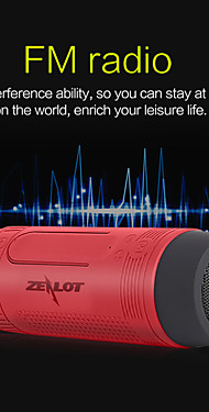 cheap -ZEALOT S1 Bluetooth Subwoofer Outdoor Portable For Mobile Phone
