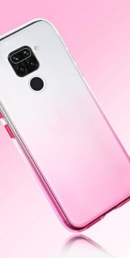 cheap -Case For Xiaomi Redmi Note 9 Pro max Mi 9T Note 6 Pro Note 8T 8A 7A CC9 Pro CC9E Ultra-thin Transparent Back Cover Color Gradient TPU