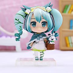 ราคาถูก -ตัวเลขการกระทำอะนิเมะ แรงบันดาลใจจาก Vocaloid Hatsune Miku พีวีซี 16cm CM ของเล่นรุ่น ของเล่นตุ๊กตา