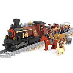 ราคาถูก -AUSINI Building Blocks 531 pcs Train สัตว์ต่างๆ เท่ห์ แปลกใหม่ เครื่องใช้ไฟฟ้า รถไฟ Play Trains & Railway Sets เด็กผู้ชาย Toy ของขวัญ