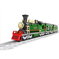 ราคาถูก -AUSINI Building Blocks 666 pcs Train เท่ห์ แปลกใหม่ เครื่องใช้ไฟฟ้า รถไฟ Play Trains & Railway Sets เด็กผู้ชาย Toy ของขวัญ