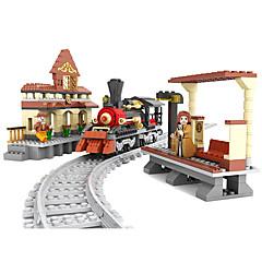 ราคาถูก -AUSINI Building Blocks 462 pcs Train เท่ห์ แปลกใหม่ เครื่องใช้ไฟฟ้า รถไฟ Play Trains & Railway Sets เด็กผู้ชาย Toy ของขวัญ