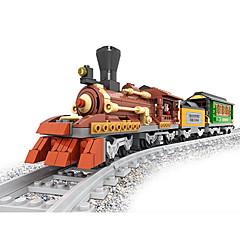 ราคาถูก -AUSINI รถของเล่น Building Blocks บล็อกทางทหาร ของเล่นชุดก่อสร้าง ของเล่นการศึกษา 483 pcs Train ทหาร เท่ห์ แปลกใหม่ เครื่องใช้ไฟฟ้า รถไฟ Play Trains & Railway Sets เด็กผู้ชาย เด็กผู้หญิง Toy ของขวัญ