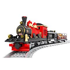 ราคาถูก -AUSINI Building Blocks 410 pcs Train เท่ห์ แปลกใหม่ เครื่องใช้ไฟฟ้า รถไฟ Play Trains & Railway Sets เด็กผู้ชาย Toy ของขวัญ