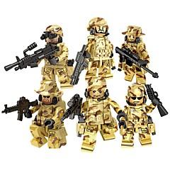 ราคาถูก -DILONG Building Blocks บล็อกทางทหาร Block Minifigures 20-480 pcs Military ทหาร สงครามครั้งที่สอง ที่เข้ากันได้ Legoing Toy ของขวัญ / ของเล่นการศึกษา