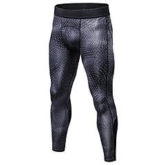 ราคาถูก -สำหรับผู้ชาย useless กางเกงรัดรูป Gym Leggings 3D กีฬา การบีบอัดสูท ถุงน่องการขี่จักรยาน วิ่ง การออกกำลังกาย วิ่งออกกำลังกาย จักรยาน ยิมออกกำลังกาย ทางวิ่ง Lightweight ระบายอากาศ แห้งเร็ว / ยืด / จุด