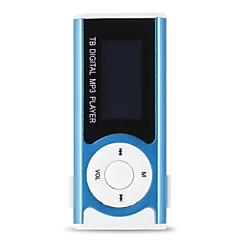 cheap -Sport MP3 Media Player New Mini Music Player Shiny Mini USB Clip LCD Screen Support Micro SD Card MP3/WMA