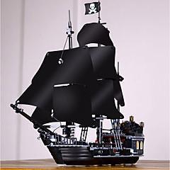 ราคาถูก -Black Pearl Building Blocks บล็อกทางทหาร ของเล่นชุดก่อสร้าง 804 pcs โจรสลัด เรือโจรสลัด ทหาร ที่เข้ากันได้ Legoing ประณีต สไตล์วินเทจ เด็กผู้ชาย เด็กผู้หญิง Toy ของขวัญ / ของเล่นการศึกษา