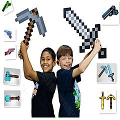ราคาถูก -Minecraft Toys Sword Pick Axe อะนิเมะและมังงะ ง่าย PEVA 1 pcs เด็กผู้ชาย เด็กผู้หญิง Toy ของขวัญ