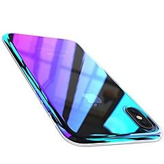 ราคาถูก -Case สำหรับ Apple iPhone X / iPhone 8 Plus / iPhone 8 Plating ปกหลัง Color Gradient Hard พีซี
