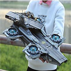 ราคาถูก -Helicarrier Building Blocks บล็อกทางทหาร ของเล่นชุดก่อสร้าง 3069 pcs ซุปเปอร์ฮีโร่ ทหาร ที่เข้ากันได้ Legoing โฟกัสของเล่น ประณีต Aircraft Carrier เด็กผู้ชาย เด็กผู้หญิง Toy ของขวัญ / ของเล่นการศึกษา