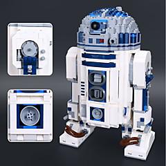 ราคาถูก -R2-D2 Building Blocks ของเล่นชุดก่อสร้าง ของเล่นการศึกษา 2127 pcs ธีมคลาสสิก Robot ที่เข้ากันได้ Legoing ความเครียดและความวิตกกังวลบรรเทา โฟกัสของเล่น เด็กผู้ชาย เด็กผู้หญิง Toy ของขวัญ