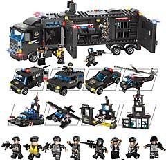 ราคาถูก -Building Blocks ของเล่นชุดก่อสร้าง ของเล่นการศึกษา 1095 pcs ยานพาหนะ ที่เข้ากันได้ Legoing ของเล่นที่บีบอัด ปฏิสัมพันธ์ระหว่างพ่อแม่และลูก เด็กผู้ชาย เด็กผู้หญิง Toy ของขวัญ