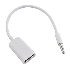 cheap -USB 3.0 - 3.5mm Male - Female 0.1m(0.3Ft)