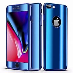 ราคาถูก -Case สำหรับ Apple iPhone 8 Plus / iPhone 7 Plus Mirror / Ultra-thin ตัวกระเป๋าเต็ม สีพื้น Hard พีซี