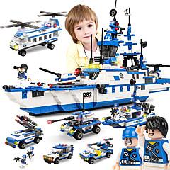 ราคาถูก -SHIBIAO Building Blocks บล็อกทางทหาร ของเล่นชุดก่อสร้าง 1230 pcs Nautical Military เรือรบ ที่เข้ากันได้ Legoing DIY ร่วมสมัย คลาสสิก คลาสสิกและถาวร เรือ Aircraft Carrier เด็กผู้ชาย เด็กผู้หญิง Toy