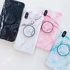 ราคาถูก -Case สำหรับ Apple iPhone XS / iPhone XR / iPhone XS Max with Stand / IMD / Pattern ปกหลัง Marble Soft TPU