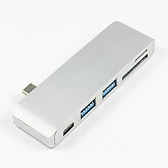 저렴한 -USB 3.1 타입 C to USB 3.0 / USB 3.1 타입 C USB 허브 5 항구 데이타 홀드