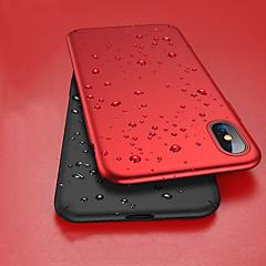 ราคาถูก -Case สำหรับ Apple iPhone XS / iPhone XR / iPhone XS Max Shockproof / Ultra-thin / Frosted ตัวกระเป๋าเต็ม สีพื้น Hard พีซี
