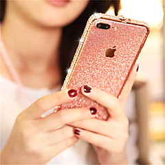 cheap -Case For Apple iPhone XS / iPhone XR / iPhone XS Max Rhinestone / Glitter Shine Back Cover Glitter Shine Hard Metal