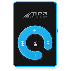 cheap -New Mini Mp3 Music Player Fashion SD TF Mirror Portable MP3 Player Clip Media Player Sport ButtonWalkman Lettore Black