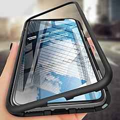 ราคาถูก -Case สำหรับ Apple iPhone XS / iPhone XR / iPhone XS Max Shockproof / Ultra-thin / Magnetic ตัวกระเป๋าเต็ม สีพื้น Hard แก้วไม่แตกกระจาย / Metal
