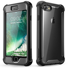 cheap -Case For Apple iPhone 8 / iPhone 7 / iPhone SE(2020) Shockproof / Dustproof Full Body Cases / Bumper Solid Colored Soft TPU