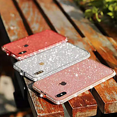 cheap -Case For Apple iPhone XS / iPhone XR / iPhone XS Max/7 8 plus/6splus/6s Rhinestone Back Cover Glitter Shine Metal