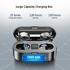 tanie -Litbest LX-9 Mini Smart Touch TWS Bezprzewodowe słuchawki Bluetooth Słuchawki 5.0 Bezprzewodowe słuchawki 8D Stereo Zestaw słuchawkowy z 2000 mAh Ładowarka