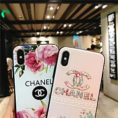 ราคาถูก -Case สำหรับ Apple iPhone XS / iPhone XR / iPhone XS Max Ultra-thin / Pattern ปกหลัง Word / Phrase / ดอกไม้ TPU