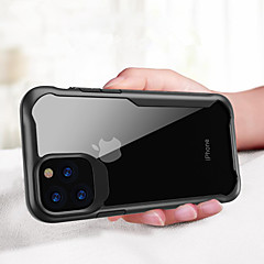cheap -Shockproof Armor Case For iPhone 11 Pro / iphone 11 / iphone 11 Pro Max Transparent PC Case Cover For iPhone XS Max XR XS X 8 Plus 8 7 Plus 7 6 Plus 6 Luxury Silicone TPU Case