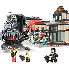 ราคาถูก -AUSINI Building Blocks 301 pcs Train เท่ห์ แปลกใหม่ เครื่องใช้ไฟฟ้า รถไฟ Play Trains & Railway Sets เด็กผู้ชาย Toy ของขวัญ
