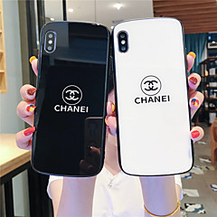 cheap -Case For Apple iPhone 11 / iPhone 11 Pro / iPhone 11 Pro Max Pattern Back Cover Word / Phrase Tempered Glass