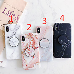 cheap -Case For Apple iPhone 11 / iPhone 11 Pro / iPhone 11 Pro Max with Stand / IMD / Frosted Back Cover Marble TPU