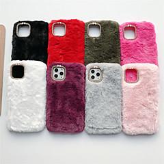 cheap -Case For Apple iPhone 11 / iPhone 11 Pro / iPhone 11 Pro Max Rhinestone Back Cover Plush TPU
