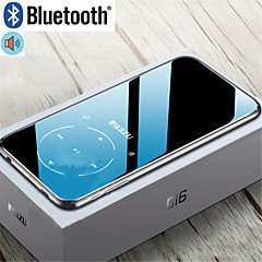 cheap -HODIENG Metal Original HDG D16 Portable Sport Bluetooth MP3 Player 8gb Mini with 2.4 inch Screen Support FM Recording E-Book Clock Ruizu