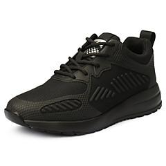 ราคาถูก -ทุกเพศ รองเท้าวิ่ง รองเท้าผ้าใบ รองเท้าเดินป่า Lightweight ระบายอากาศ ป้องกันการลื่นล้ม Sweat-wicking วิ่ง การเดินเขา บาสเกตบอล ฤดูใบไม้ร่วง ฤดูใบไม้ผลิ สีดำ