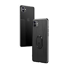 ราคาถูก -Case สำหรับ Apple iPhone 11 / iPhone 11 Pro / iPhone 11 Pro Max Shockproof / with Stand ปกหลัง สีพื้น TPU / พีซี