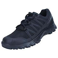 ราคาถูก -ทุกเพศ รองเท้าผ้าใบ Lightweight ระบายอากาศ ป้องกันการลื่นล้ม Sweat-wicking วิ่ง การเดินเขา Team Sports ฤดูใบไม้ร่วง ฤดูหนาว สีดำ