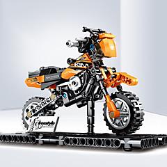 ราคาถูก -Building Blocks 209 pcs Moto ที่เข้ากันได้ Legoing การจำลอง รถมอเตอร์ไซด์ ทั้งหมด Toy ของขวัญ / สำหรับเด็ก