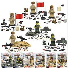 ราคาถูก -Building Blocks บล็อกทางทหาร ของเล่นชุดก่อสร้าง ทหาร ที่เข้ากันได้ Legoing สนุก คลาสสิก เด็กผู้ชาย เด็กผู้หญิง Toy ของขวัญ / ของเล่นการศึกษา