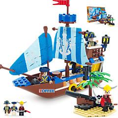 ราคาถูก -ENLIGHTEN Building Blocks Model Building Kits ของเล่นชุดก่อสร้าง Pirate เรือ โจรสลัด ที่เข้ากันได้ Legoing เด็กผู้ชาย เด็กผู้หญิง Toy ของขวัญ / ของเล่นการศึกษา